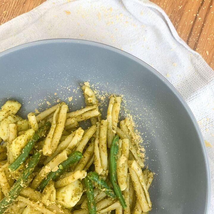 one pot pasta genovese