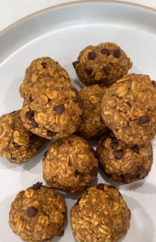 easy pumpkin protein balls