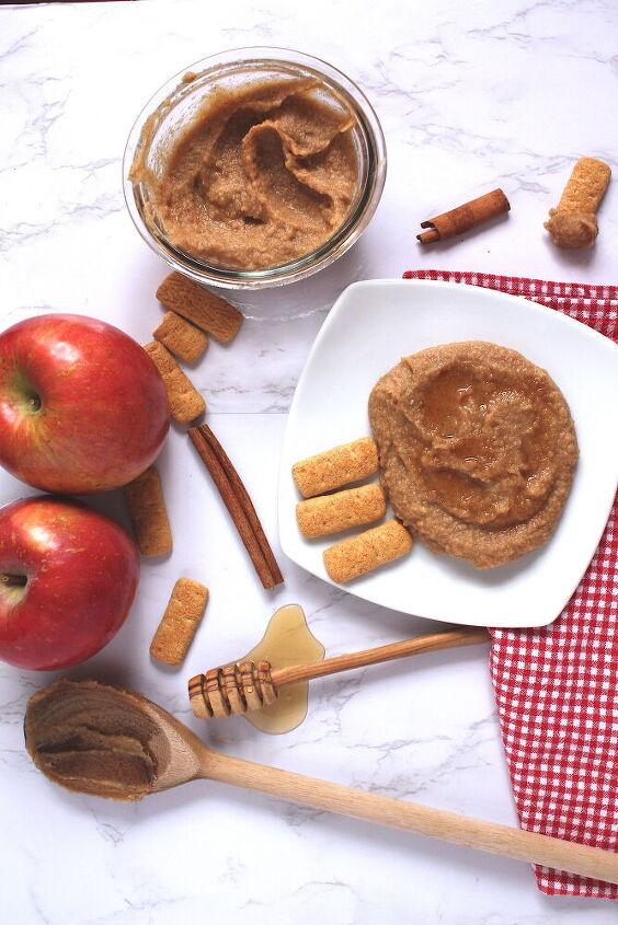 apple cinnamon hummus