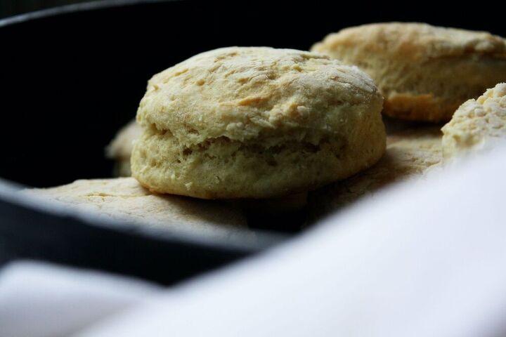 avocado oil buttermilk vegan skillet biscuits, Vegan Buttermilk Skillet Biscuit