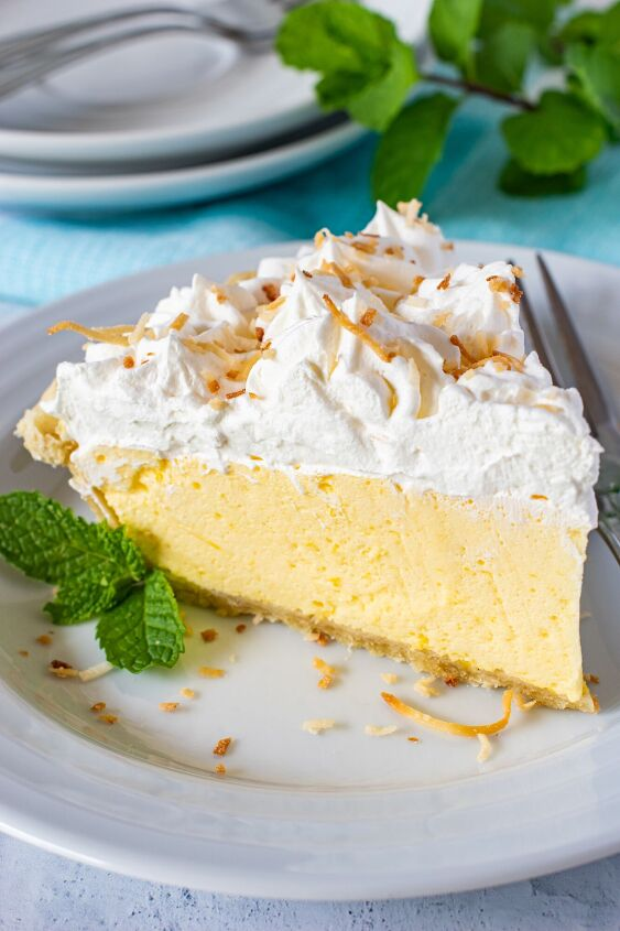lilikoi chiffon cream pie