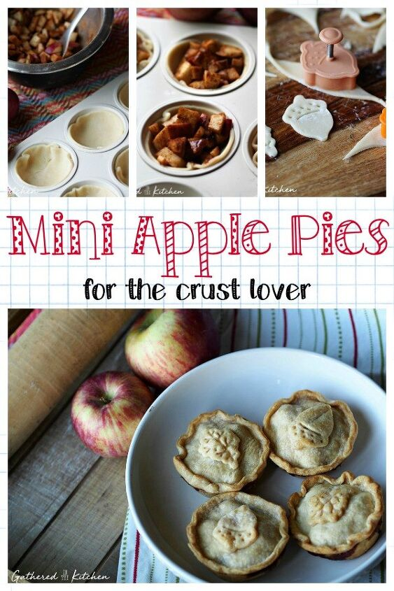 mini apples pies for the crust lover