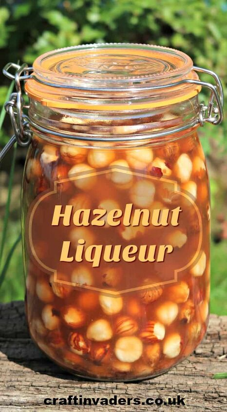 how to make hazelnut liqueur easily at home