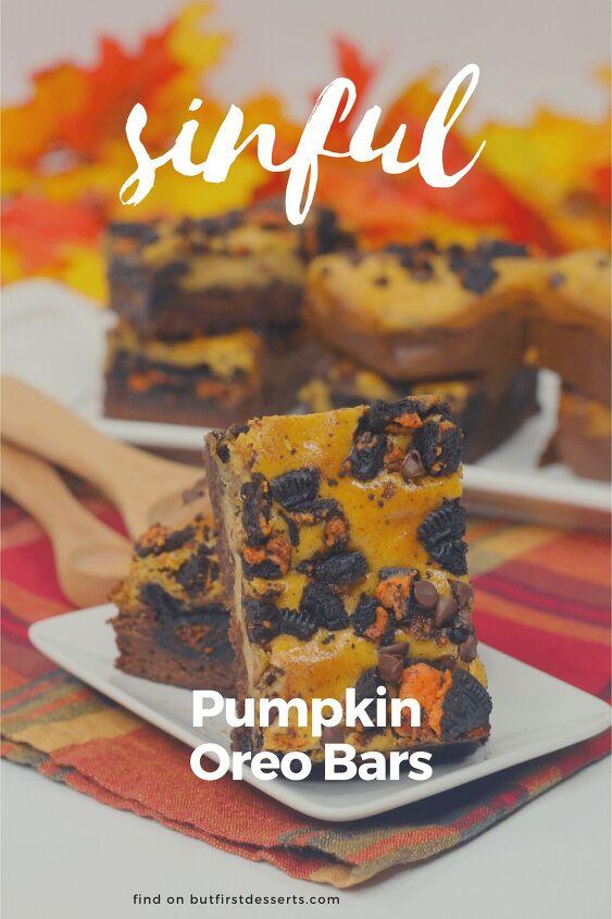 pumpkin oreo bars recipe just sinful
