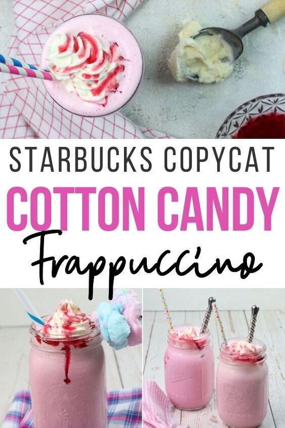 cotton candy frappuccino starbucks copycat