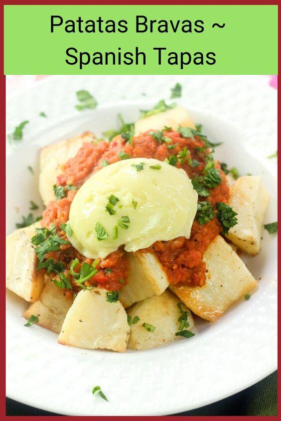 patatas bravas spanish vegetarian tapas
