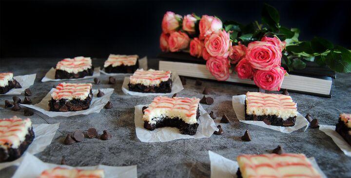 tangy raspberry swirl cheesecake brownies