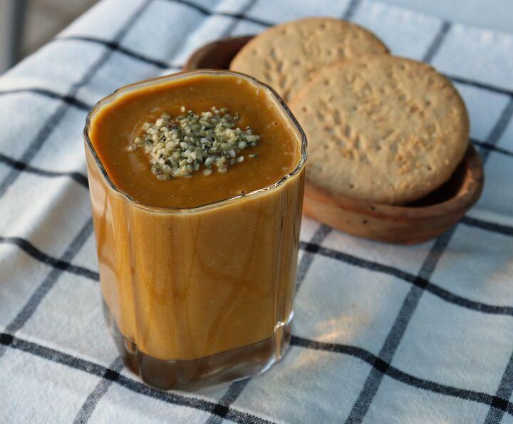 pumpkin spice mocha smoothie