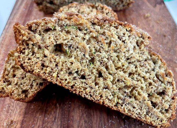 cinnamon zucchini banana bread