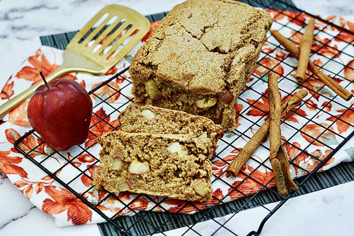 easy apple bread from cake mix
