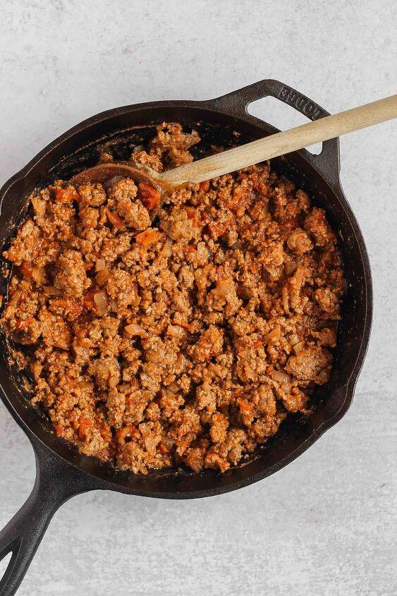 chili stuffed sweet potatoes paleo