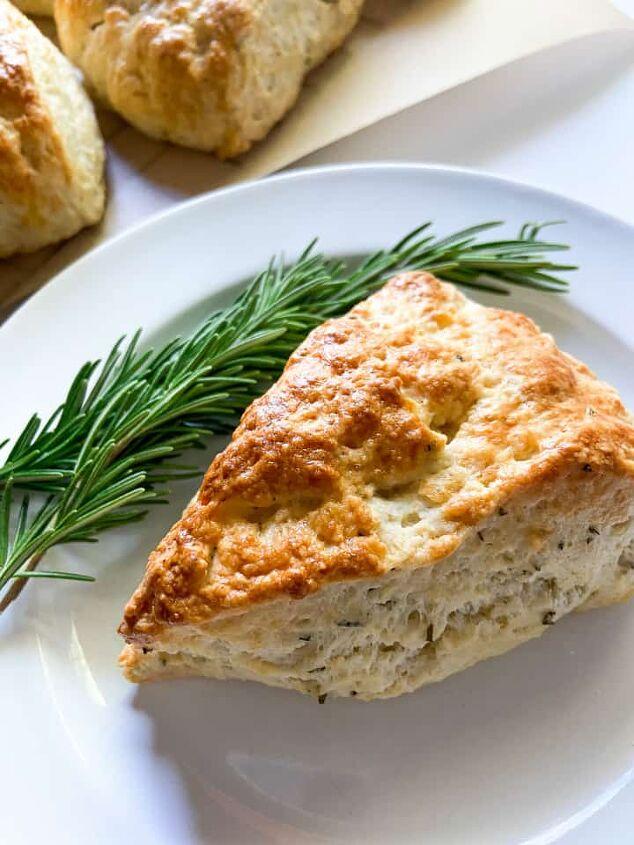 savory lemon rosemary scones