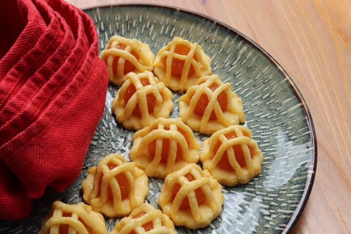pineapple jam tart cookie