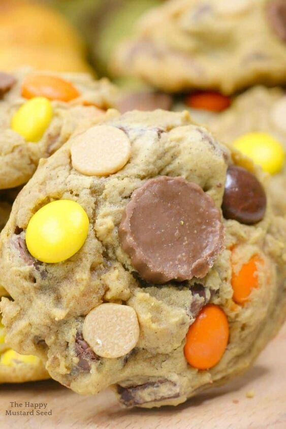 reese s pumpkin chocolate chip cookies