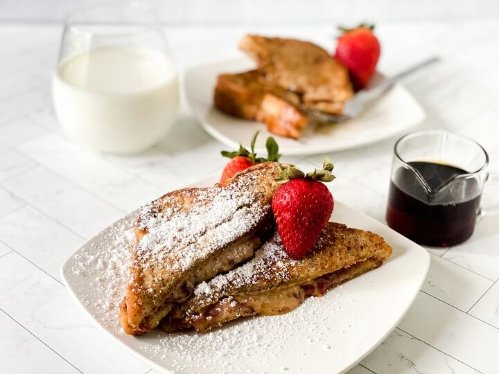double dip french toast recipe stuffed with peanut butter and jelly