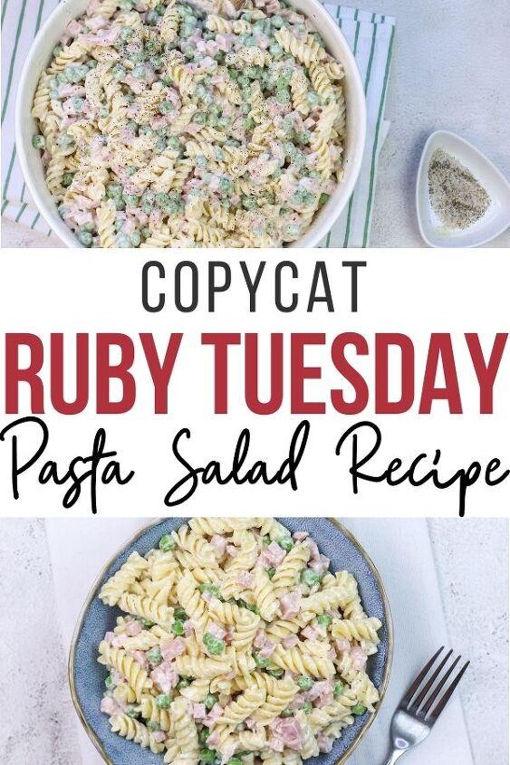 copycat ruby tuesday pasta salad recipe