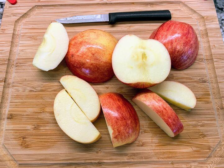 farmhouse apple fritter bread with cider glaze