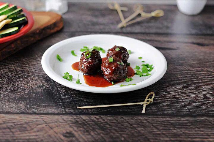 grape jelly bbq meatballs