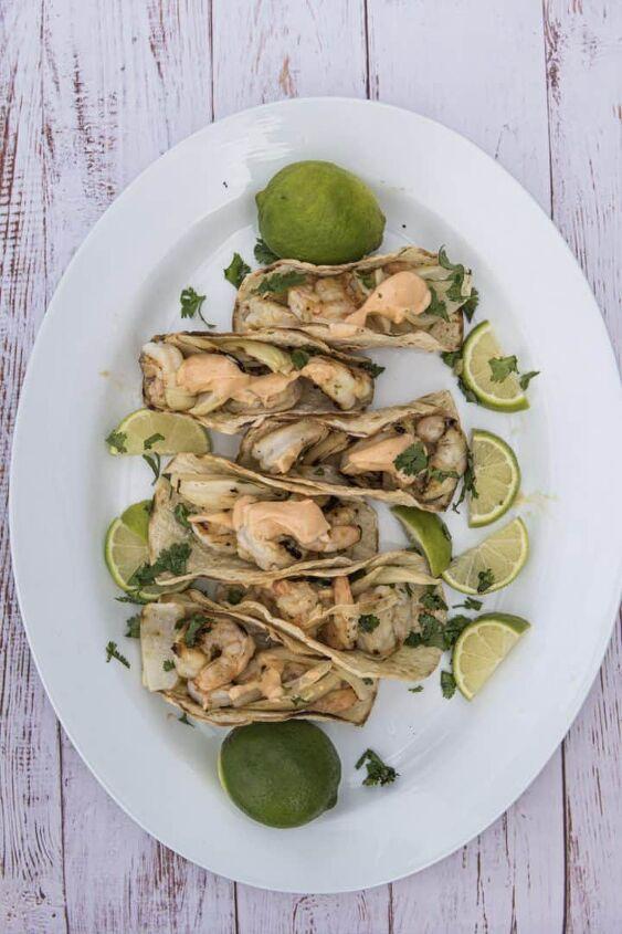 jalapeno honey lime shrimp tacos