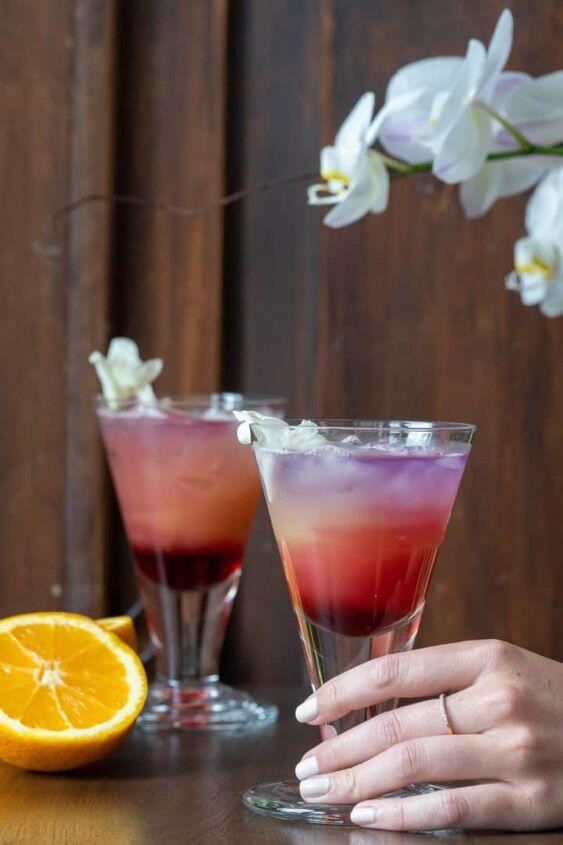 sunrise gin and juice