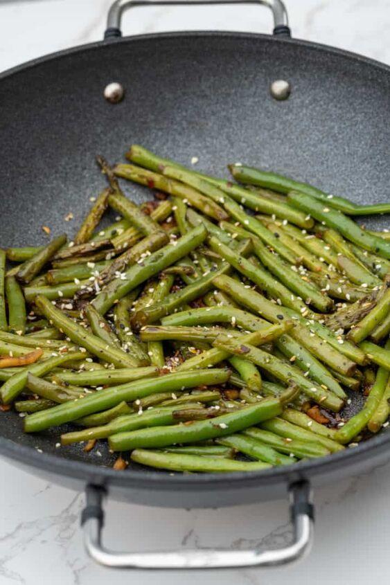 easy szechuan green beans