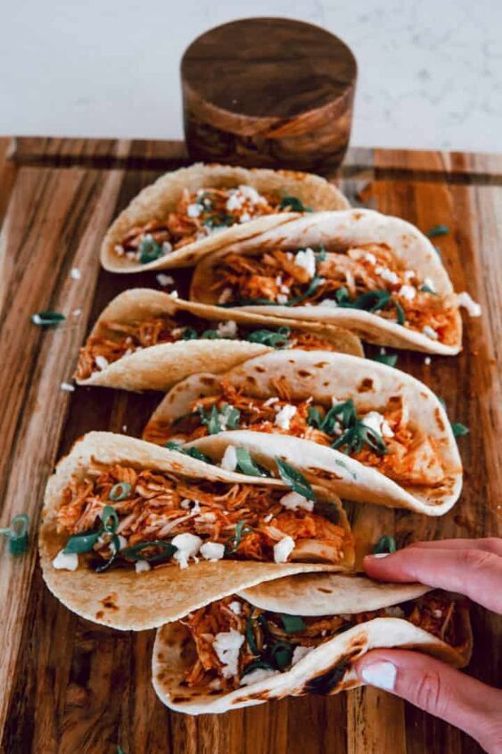 chicken tinga tacos in instant pot