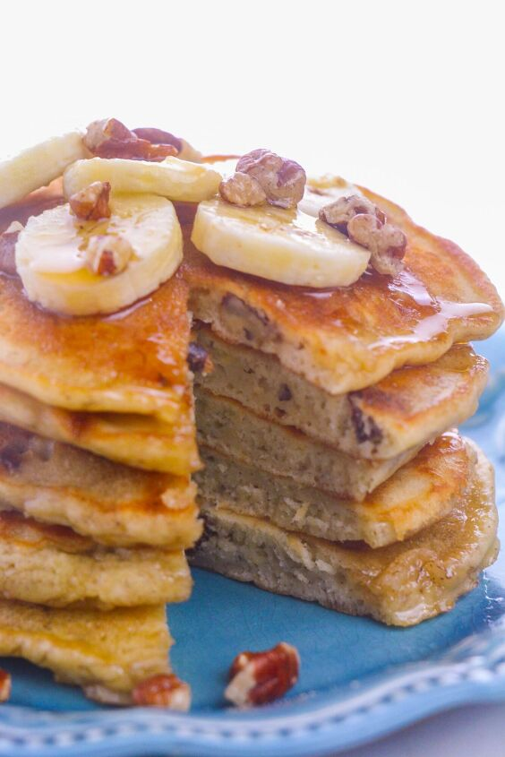 how to make the best banana nut pancakes recipe