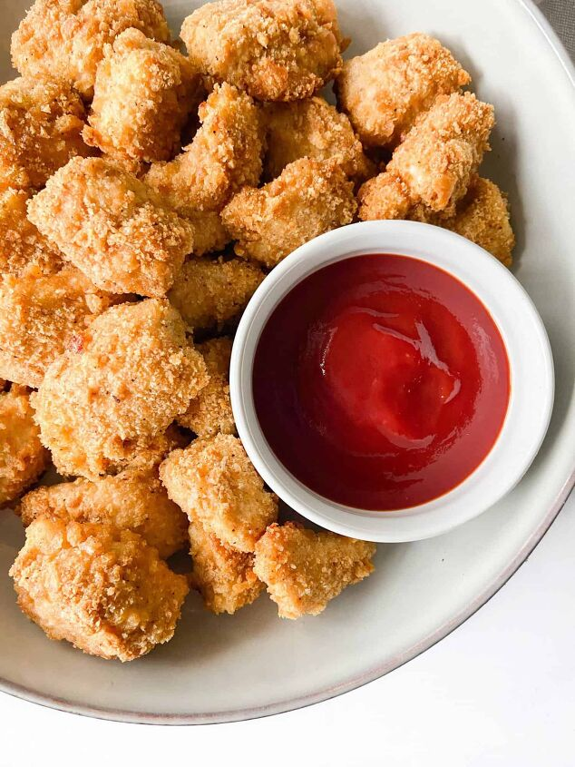 cracker crusted chicken nuggets