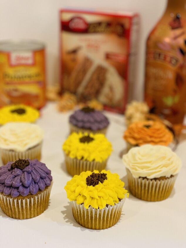 bailey s pumpkin spice cupcakes