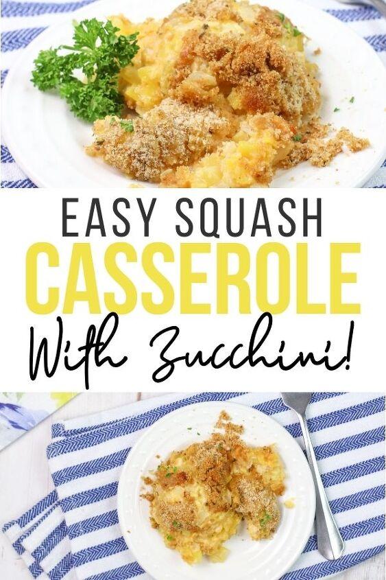 easy squash and zucchini casserole