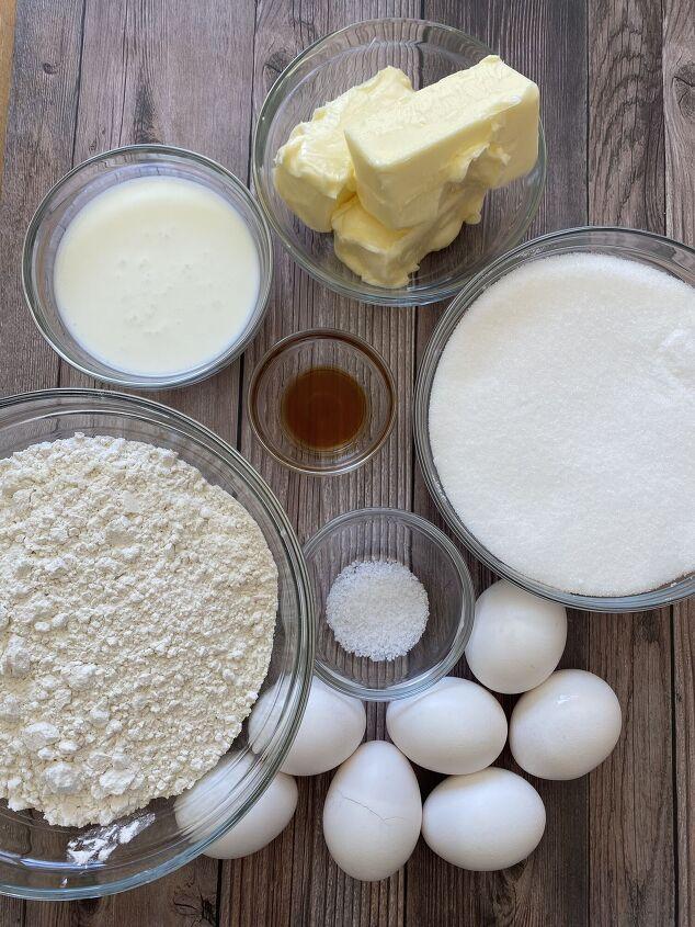 buttermilk bundt cake, Buttermilk Bundt Cake Ingredients