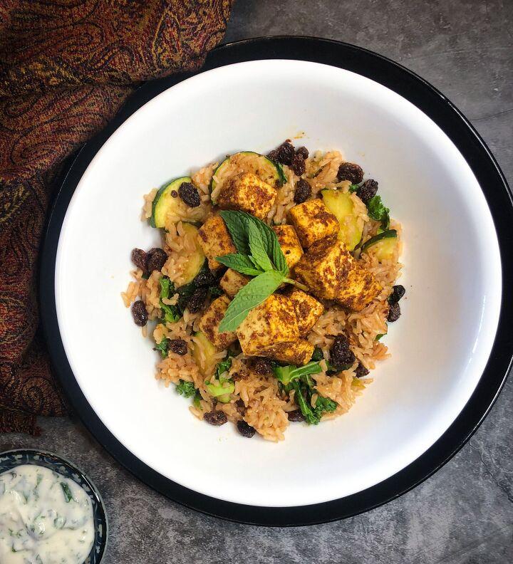 moroccan infused tofu