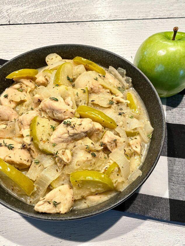 the best apple chicken skillet happy honey kitchen