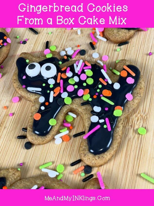 black cat gingerbread cookies
