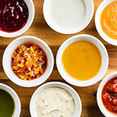 Dips, Sauces & Dressings